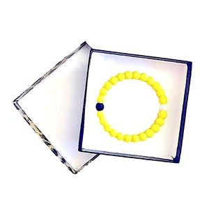 🌸 Yellow Lokai Bracelet